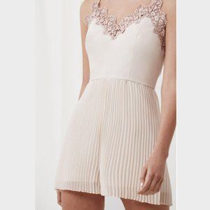 KEEPSAKE The Label All Time High Playsuit-Cream
